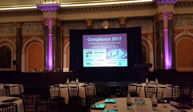 FSTP attend Compeer Compliance Conference 2017, FSTP, Financial Services Training Partners, Financial Services Training, Financial Services Regulation, Financial Compliance, Financial Regulation, CISI, FCA, Financial Conduct Authority,